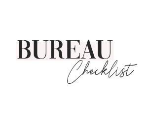 Bureau Checklist
