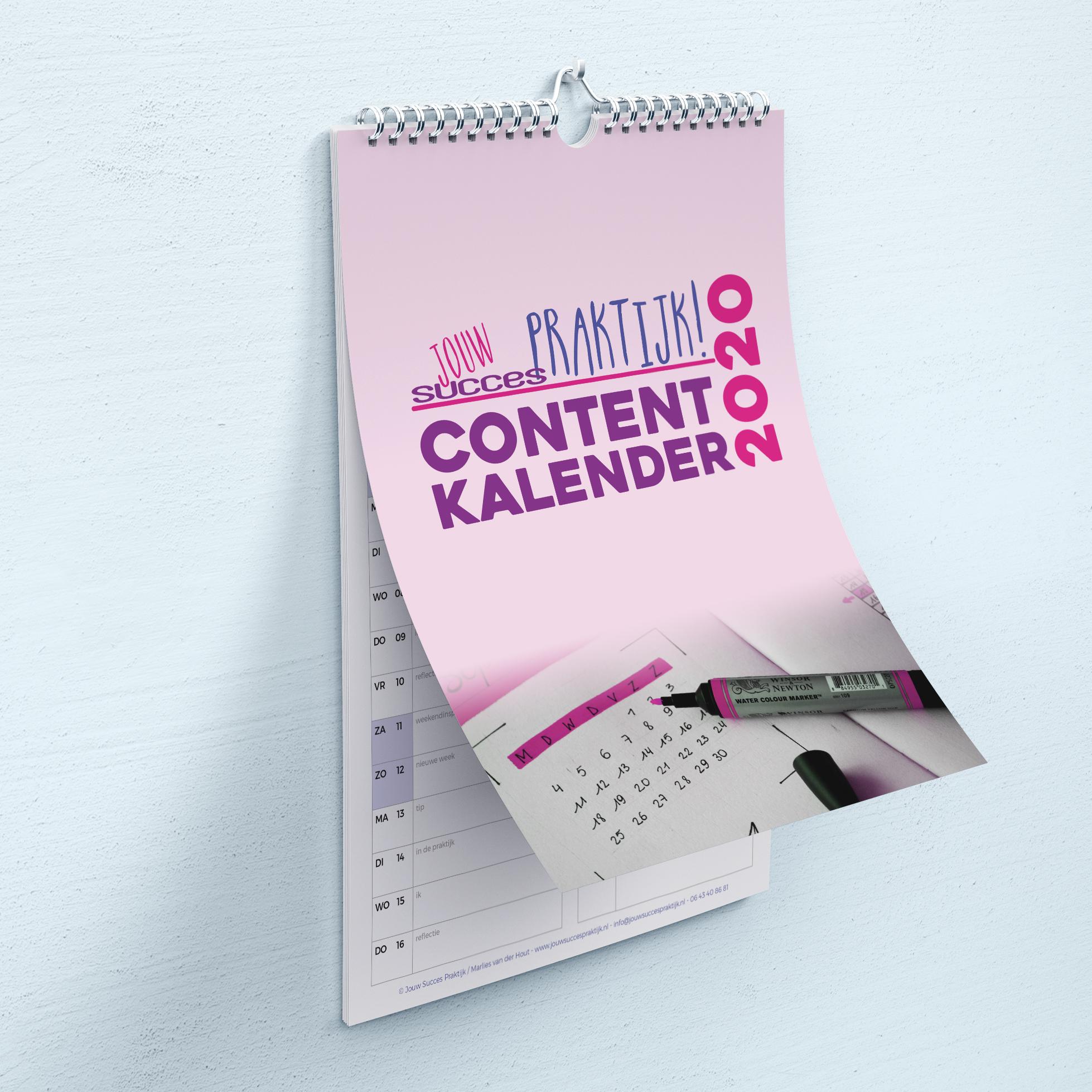 Contentkalender Jouw Succes Praktijk